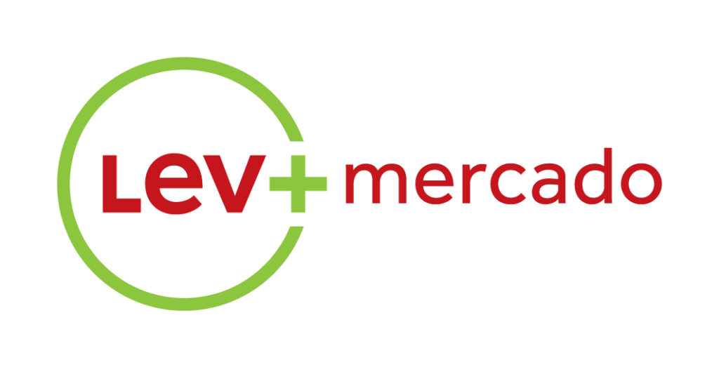 Logo Lev+ Mercado